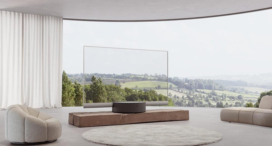 Одеська студія дизайну розробила серію візуалізацій для реклами прозорого телевізора Xiaomi