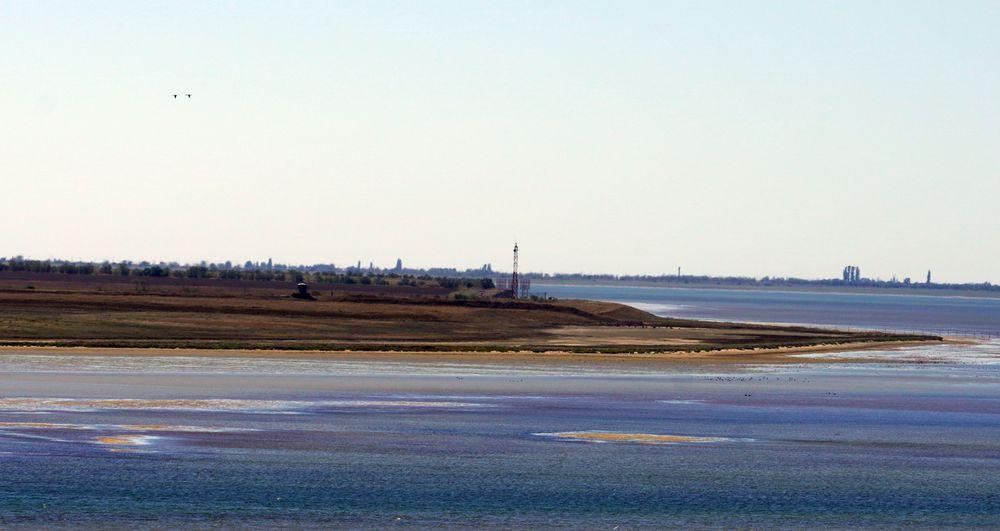 Кримський берег, вид з боку України