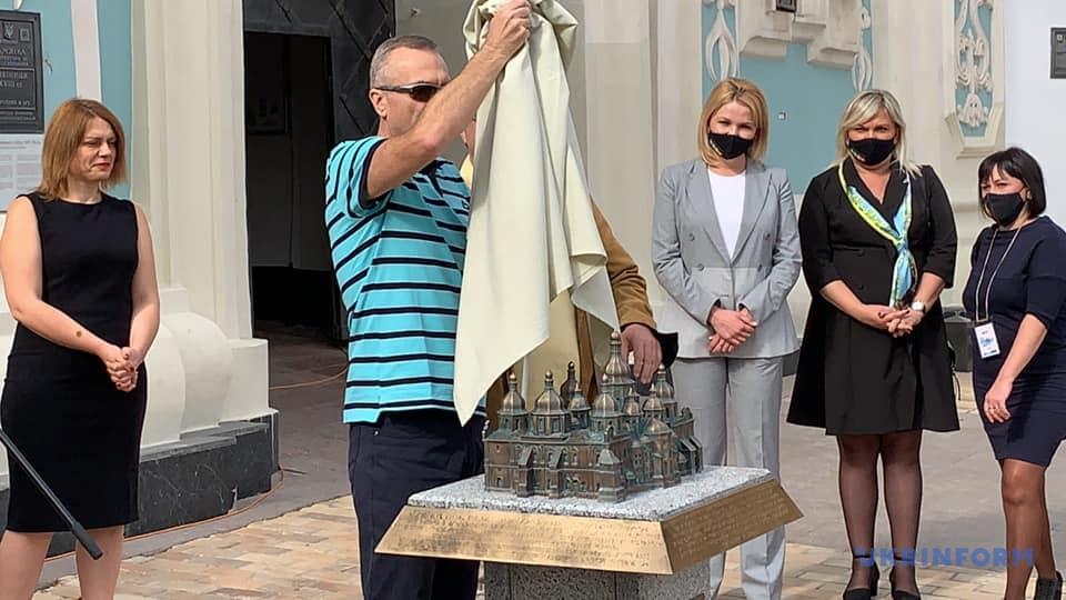 В Киеве появилась инклюзивное 3D-модель Софийского собора