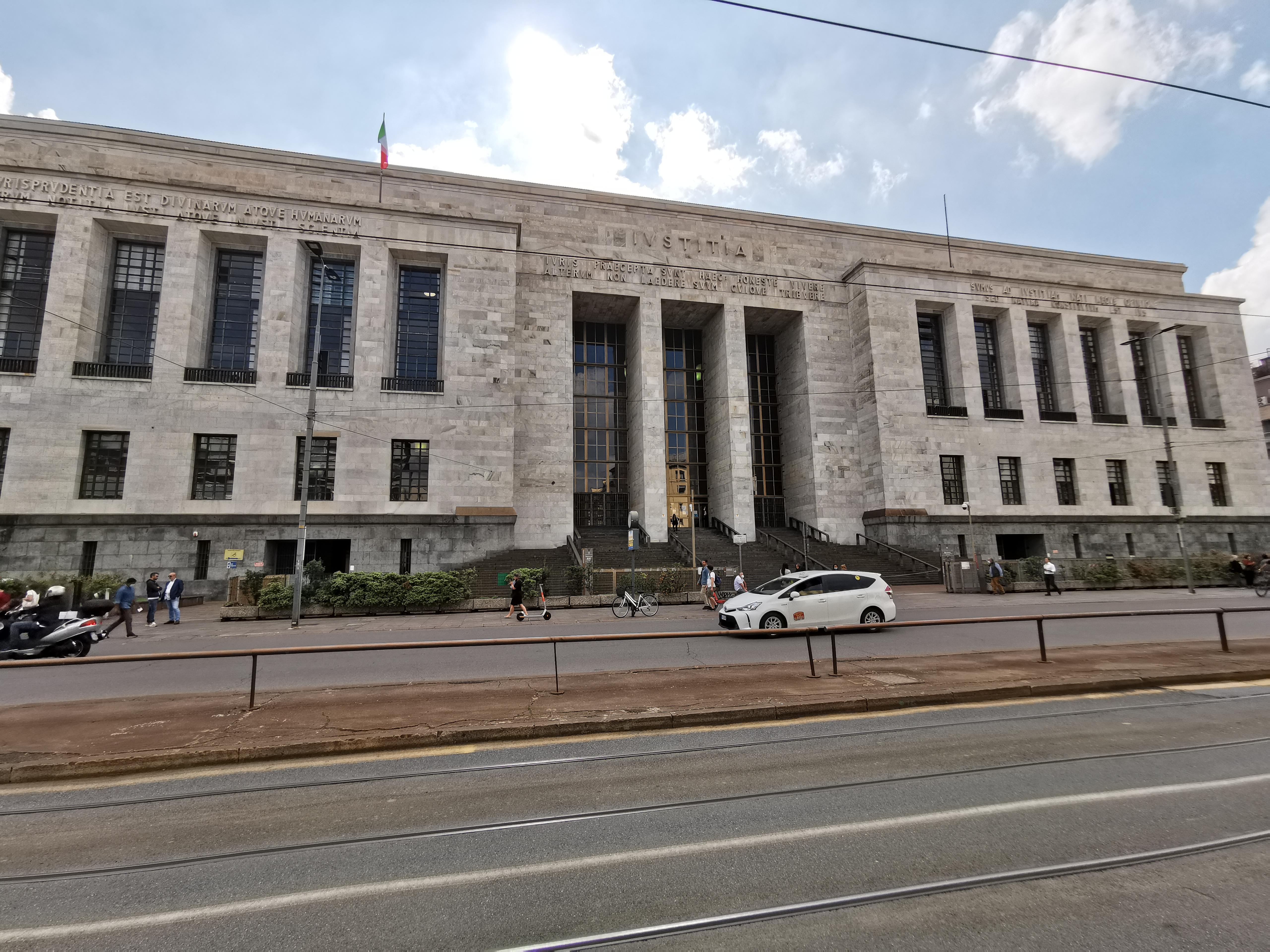 Фото: Массиміліано Меллей Будівля Міланського суду, де відбудеться розгляд апеляції щодо Марківа