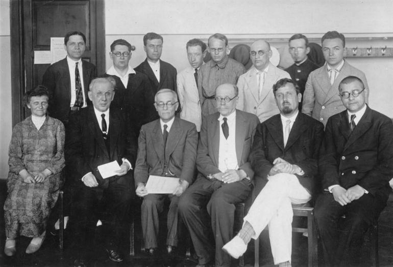 14-на семінарі київськиї математиків, червень 1935 р.