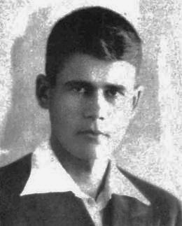 4-гімназист Михайло Кравчук