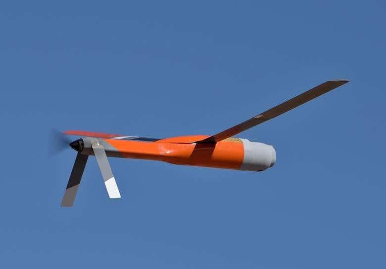 США испытали беспилотник, который можно запускать и ловить в полете