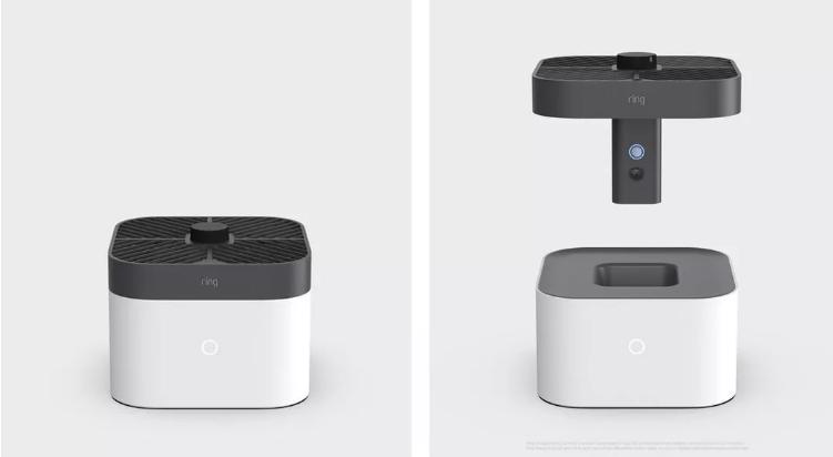 Amazon представила домашнего дрона-охранника