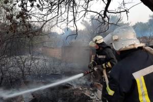 ルハンシク州の火災でウクライナ軍人1名死亡=統一部隊