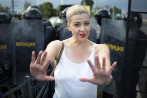 Белорусские оппозиционеры Колесникова и Знак обжаловали приговоры