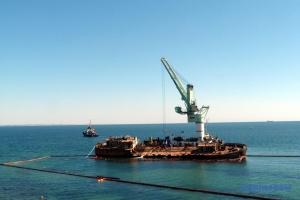 Суд визнав за Україною право власності на аварійний танкер Delfi