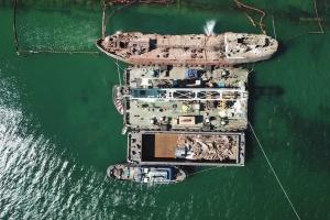 Криклій показав спецоперацію з танкером Delfi