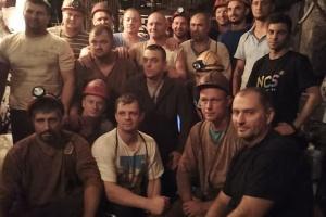 クリヴィー・リフで炭鉱従事者が12日間ストライキ 195名が炭鉱内で抗議