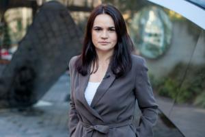 Ucrania invita a Tijanóvskaya a la reunión del Triángulo de Lublin