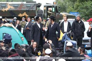 Covid-19 : 2 000 pèlerins juifs bloqués à la frontière entre l'Ukraine et le Bélarus