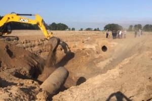 Біля Чабанів відновили роботу газопроводу