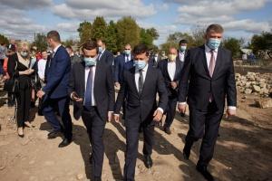 Volodymyr Zelensky s'est rendu dans la région d'Ivano-Frankivsk
