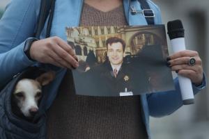 На Майдані пройшла акція пам'яті Гонгадзе