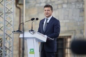 Зеленський взяв участь у представленні Стратегії розвитку Тернопільщини