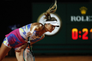 WTA-Tennisturnier in Rom: Svitolina gewinnt dritte Runde