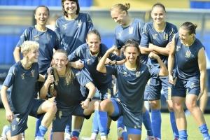 Женская сборная Украины обыграла Черногорию в отборе Евро-2022