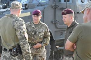 """Начало """"Объединенных усилий-2020"""": десант британских Hercules и истребители ВСУ"""