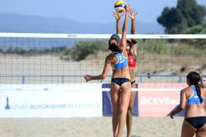 Украинки выиграли юниорский чемпионат Европы по пляжному волейболу