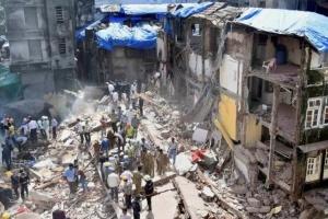 В Индии рухнуло жилое здание: 8 погибших