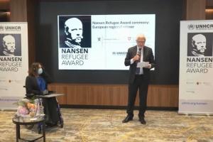 Церемония вручения международной награды им. Нансена в европейском регионе