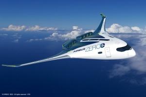 """Airbus представив концепти перших літаків із """"нульовими"""" викидами"""