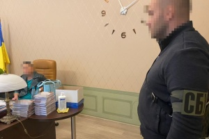 """Голова окружного адмінсуду Харкова """"погоріла"""" на передачі хабара - СБУ"""