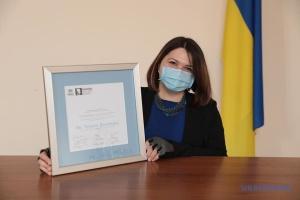 Tetjana Barantsova erhält Nansen-Flüchtlingspreises für Europa