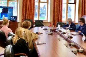 Ткаченко обговорив з послом Канади співпрацю у сфері культури