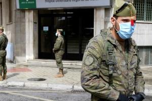 Мадрид просить армію про допомогу в забезпеченні карантинних обмежень
