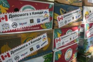 Житомирщина отримала сьому партію гуманітарної допомоги від діаспори з Канади