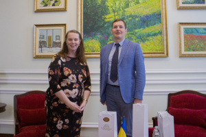 Yenin, O'Rourke discuss strengthening of diplomatic dialogue between Ukraine and Australia