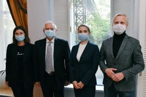 Боррель начал визит в Украину