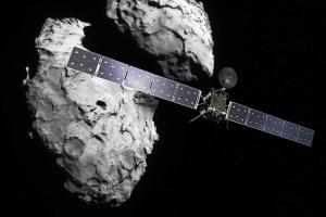 """Вокруг кометы впервые зафиксировали """"северное сияние"""""""