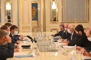 Боррель после встречи с Зеленским подтвердил поддержку Евросоюзом Украины