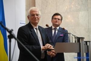 Unia Europejska jest gotowa dać Ukrainie 1,2 mld euro, ale potrzebna jest współpraca z MFW – Borrell