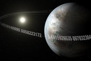 """Астрономи знайшли """"Пі-планету"""""""
