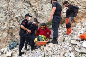 У Туреччині зірвався з гори український альпініст