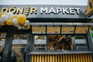 В Киеве открыли первый Döner Market от МХП