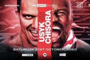 Pelea Usyk vs. Chisora tendrá lugar el 31 de octubre