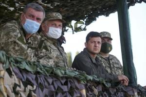 """""""Объединенные усилия-2020"""" показали высокий уровень украинских военных - Зеленский"""