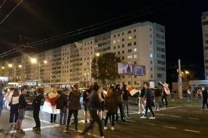 Десятки задержанных и раненные: силовики жестко разогнали протест в Беларуси