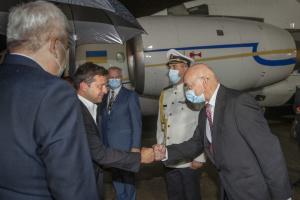Selenskyj beginnt offiziellen Besuch in Slowakei