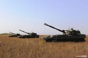 Артилерія Десантно-штурмових військ на Азові тренувалася знищувати катери