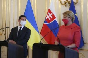 Zelensky: Ucrania y Eslovaquia tienen una visión común de los riesgos del Nord Stream 2