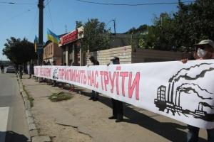 У Харкові знову мітингують проти викидів коксового заводу