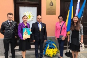 У Словенії відкрили пам'ятну дошку Івану Боберському