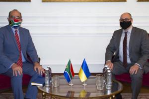 Ucrania y Sudáfrica acuerdan crear un Consejo Empresarial