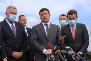 Zelensky announces construction of new airport in Zakarpattia region
