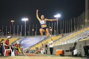 Бех-Романчук выиграла этап Бриллиантовой лиги в Катаре